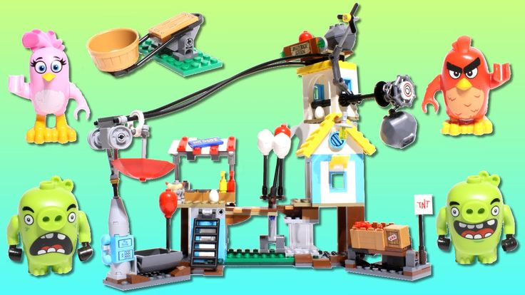 LEGO Toys for Kids   Angry Birds LEGO 🐷 Pig City Teardown - Stop motion build video: https://youtu.be/w_nme9a5XhU