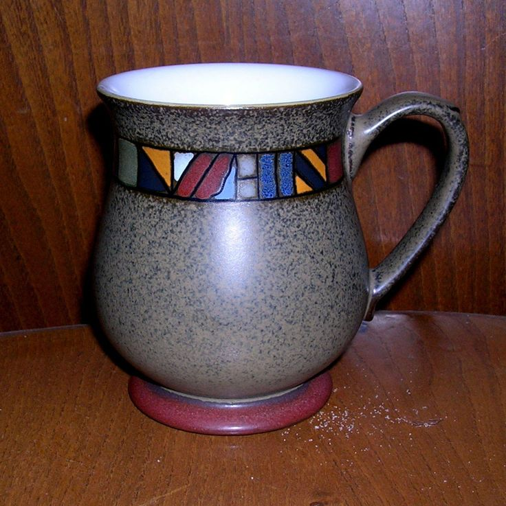 DENBY MARRAKESH CRAFTSMAN MUG BEAUTIFUL STYLISH & EXCELLENT CONDITION OOP | eBay