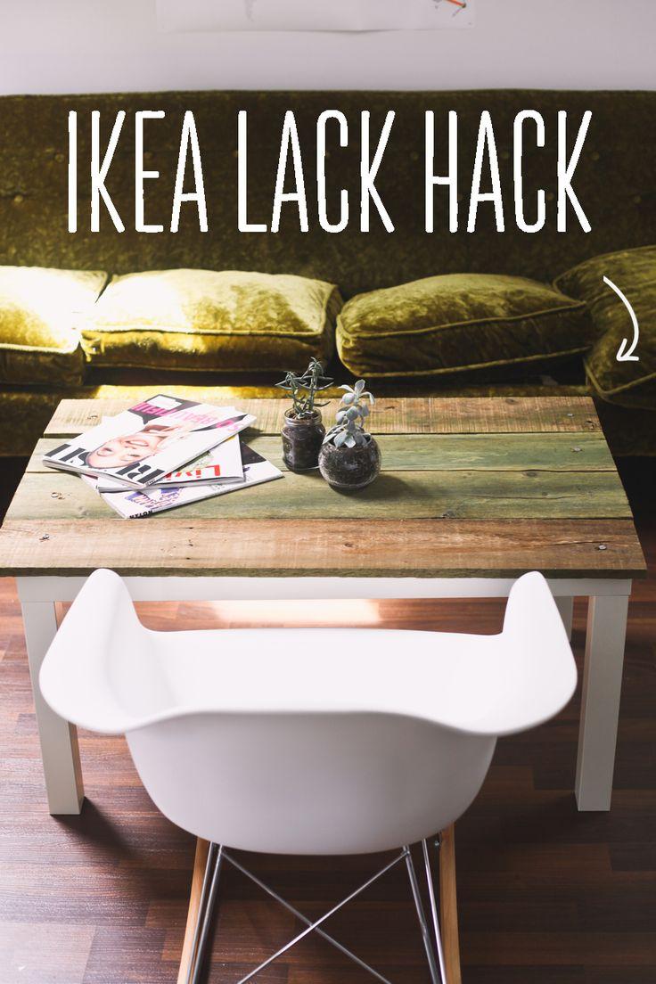 ikea hack lack coffee table humble abode pinterest. Black Bedroom Furniture Sets. Home Design Ideas
