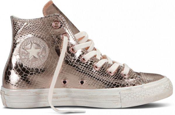 Converse Chuck Taylor All Star Hi Top Glam Rose Gold