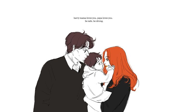 Potter family. Pinned by @lilyriverside