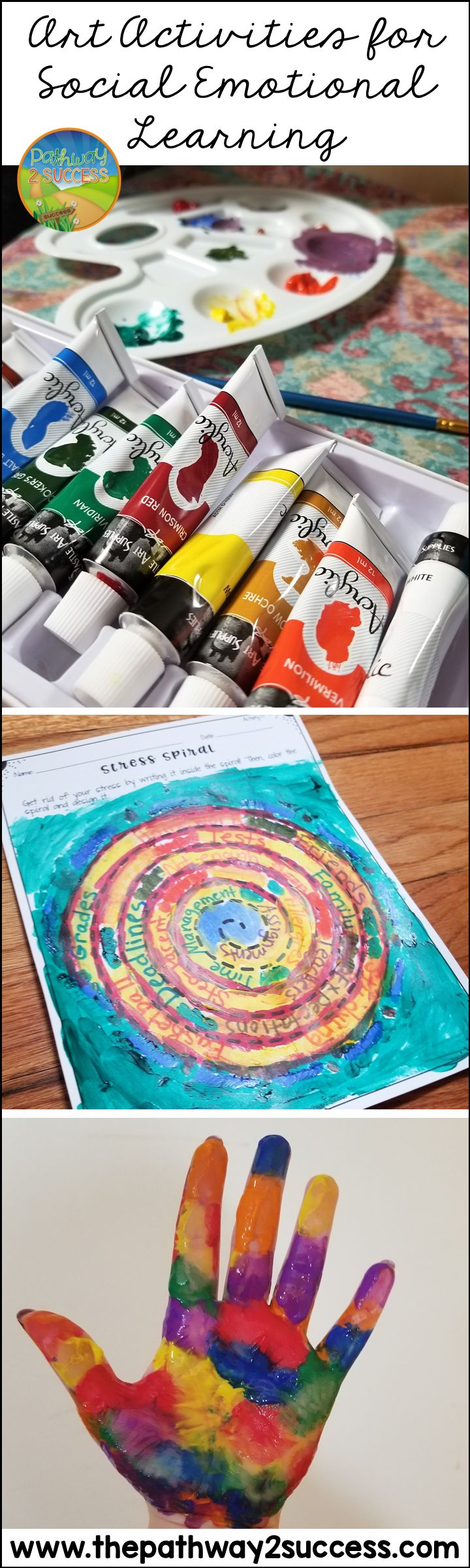 Use art activities to teach critical social emotional learning skills, including confidence, relationship-building, social skills, collaboration, managing emotions, and more.