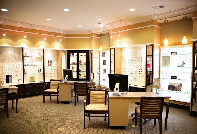 Patrick Eye Care Optical Office Design Barbara Wright