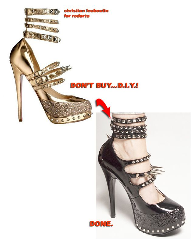 Super Spiked Heels : Image 1 of 3