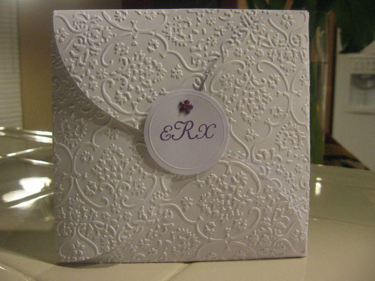 Cricut Critter Scrapping Heaven: Wedding Invite