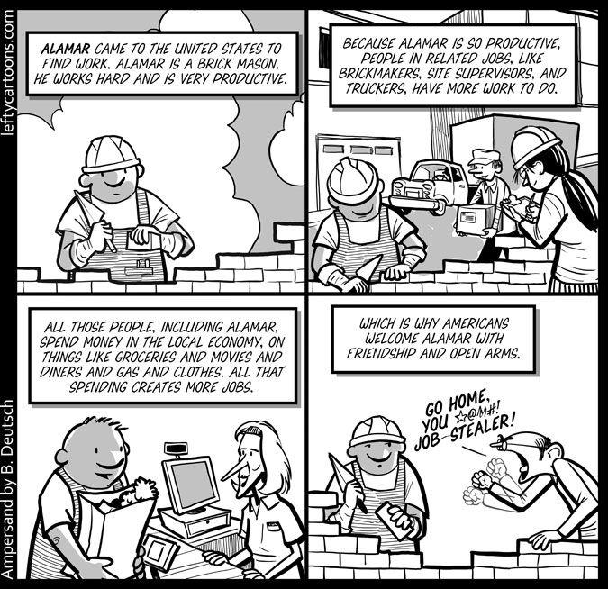 Immigration and Jobs - November 3rd, 2012 Barry Deutsch