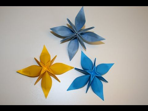 Origami - Shining Alice (étoile à huit branches)