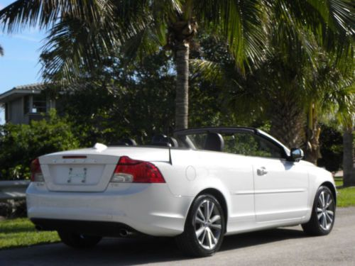 2013 Volvo C70 T5 CONVERT-1 OWNER-WARRANTY-BEST ON EBAY-NO RESERVE White for | Used Cars for Sale