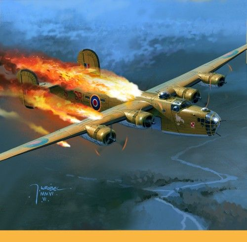The ditching by gil cohen boeing b 17 flying fortress aviation b 24 liberator by jarosaw wrbel bfd fandeluxe Gallery
