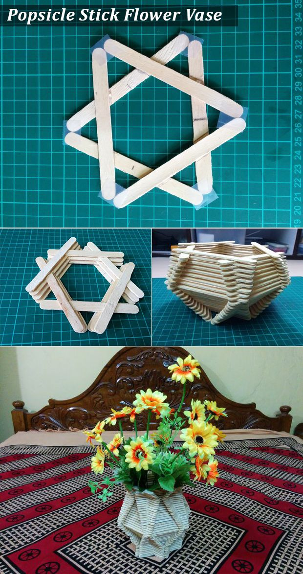 Icecream sticks or Popsicle Stick is one such kind of a tool with which you can try numerous things as per your imagination. Making Flower...
