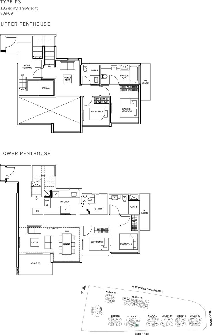 The Glades Condo Floor Plan - 4BR Penthouse - P3 - 182 sqm-1959 sqft.JPG