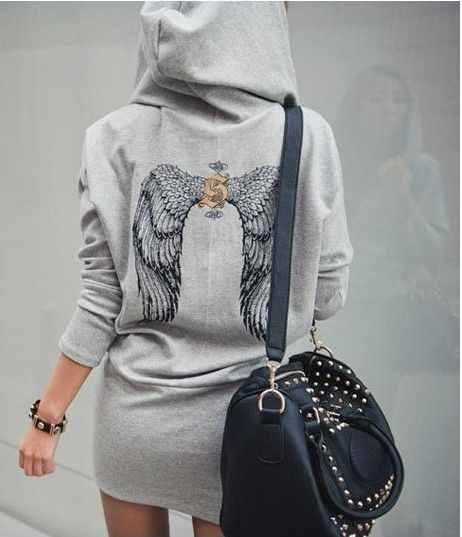 Angel Fashion Dresses Ebay Sexy Angel Wings Short Hoodie