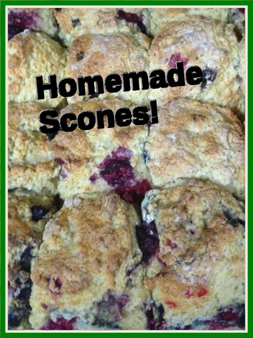 We make lashings of scones in store every morning - wholemeal, plain, sultana and mixed berry :) #homemade #irishfood #dungarvan #local #hightea #homebakes