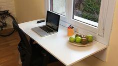 Cómo hacer un escritorio abatible