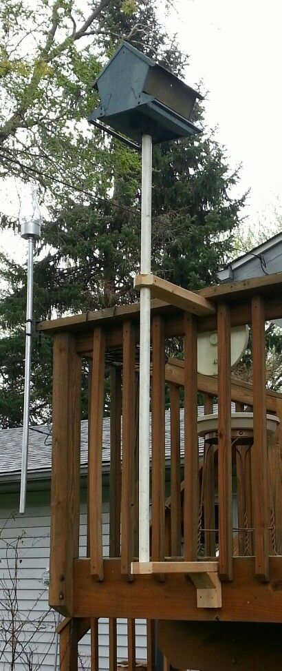 how to make a bird feeder stand