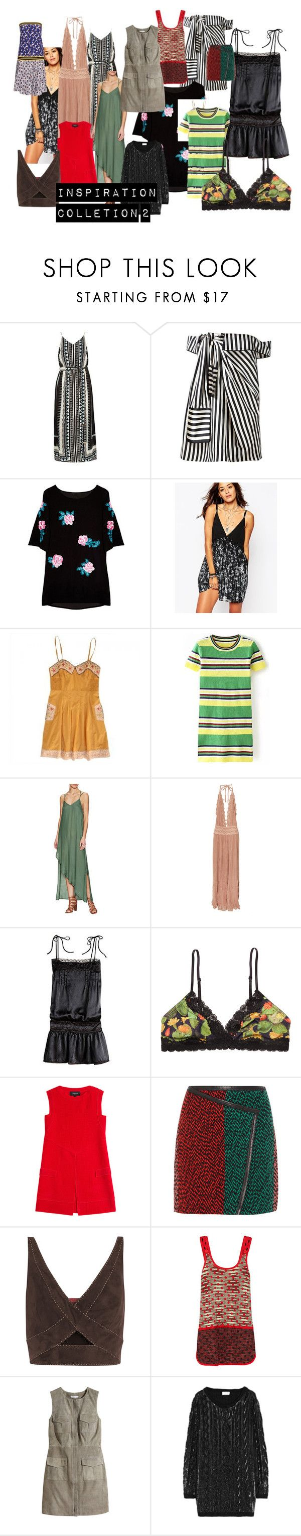 """inspiration colletion 2"" by anaunderground on Polyvore featuring River Island, Monse, Religion Clothing, Free People, Jens Pirate Booty, Juicy Couture, Monki, Derek Lam, Fendi e Tamara Mellon"
