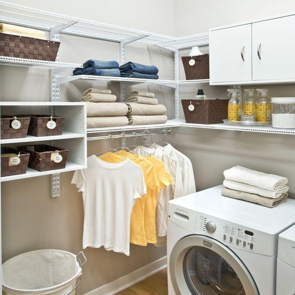 Best 25+ Unfinished Basement Laundry Ideas On Pinterest