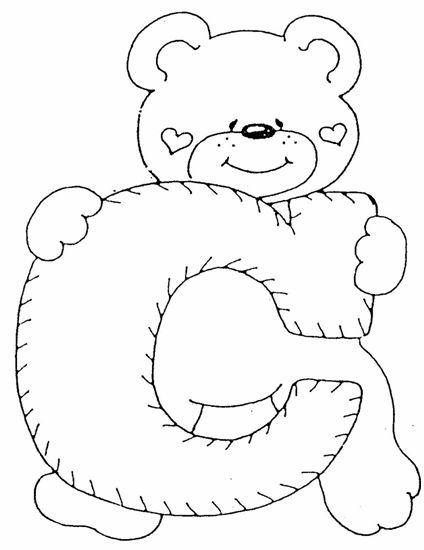 alfabeto de oso