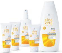 Avec l'arrivée des premiers soleil, la gamme Aloe Vera Sun est un complément idéal pour profiter de la douceur extérieure en toute tranquillité.