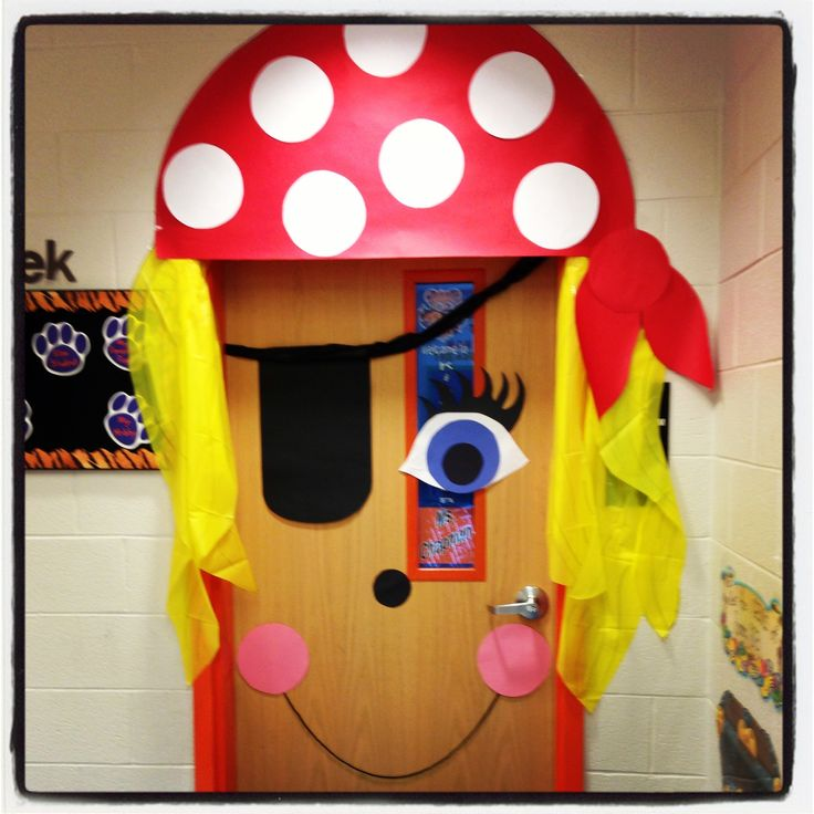This would be cute for the door of the party