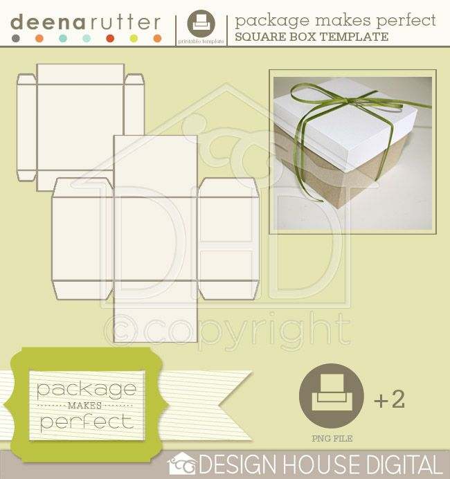 Package Makes Perfect - Square Box