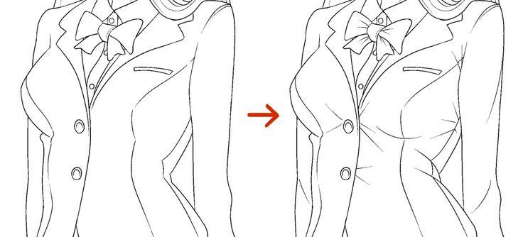 Pequenos detalhes tornam o desenho mais realista.
