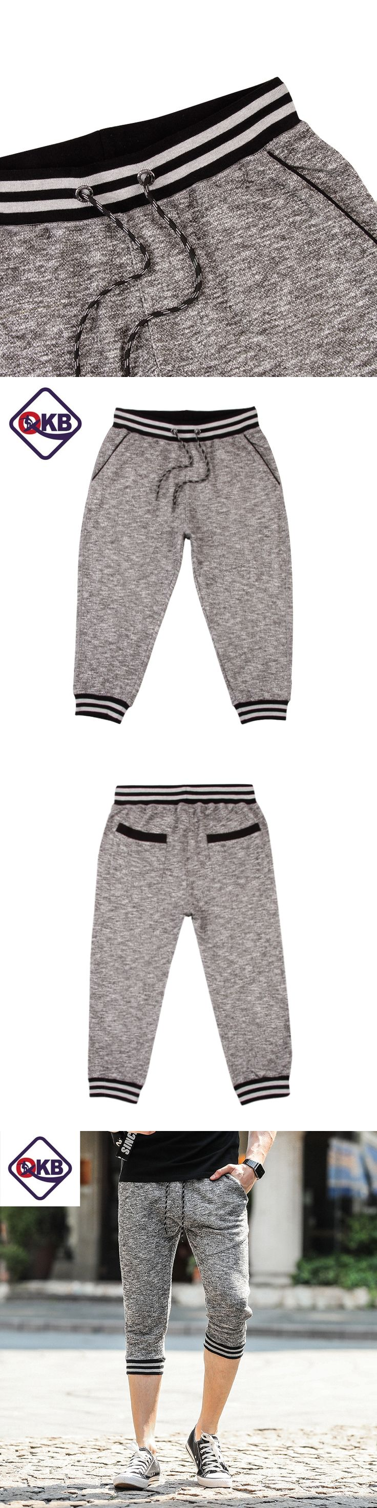 QIKERBONG 2017 Summer Casual Shorts Loose Knitted Bermuda Masculina Ventilate Elastic Waistband Pantalones Cortos Hombre Deporte