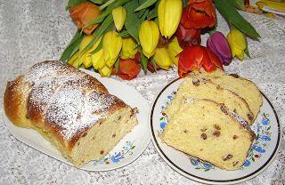 W Mojej Kuchni Lubię.. : pyszna kaszubska drożdżówka na żółtkach z rodzynka...