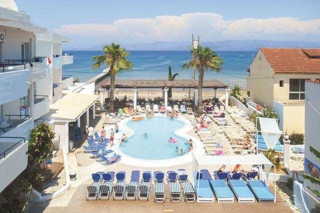 Quayside Village Hotel's in Kavos Corfu Greece