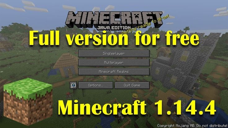 How to Download and Install Minecraft Java Edition 1.14.4