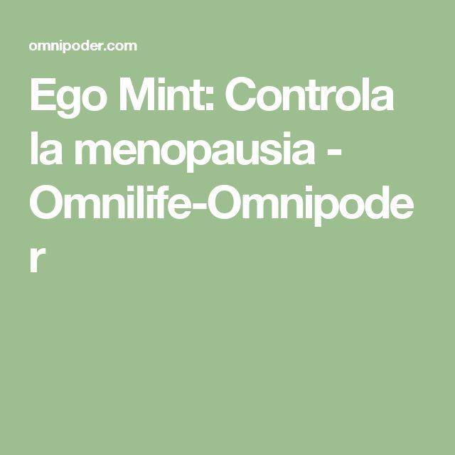 Ego Mint: Controla la menopausia - Omnilife-Omnipoder