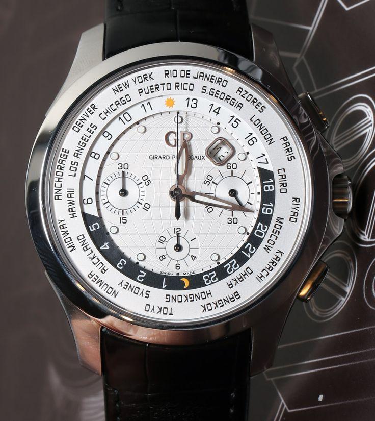 Girard-Perregaux Traveller WW.TC World Timer Watch