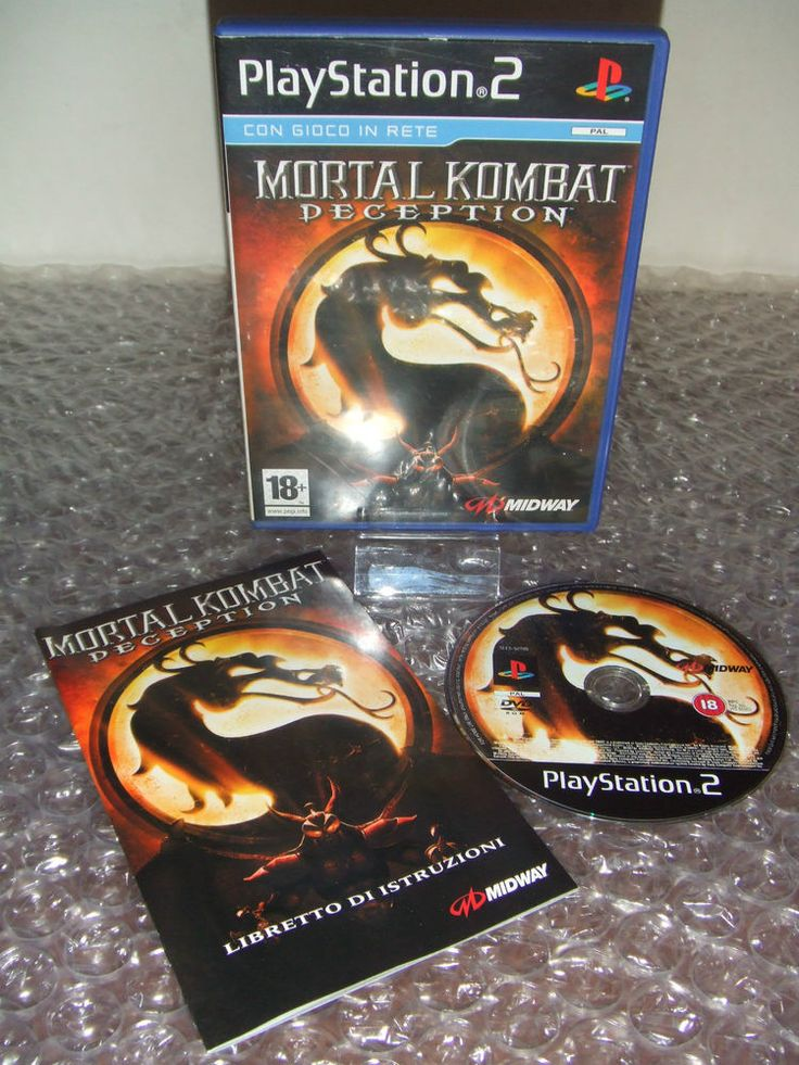 MORTAL KOMBAT DECEPTION - PS2 ps3 playstation - PAL ITA - Ottimo