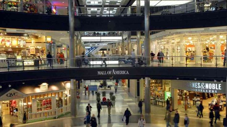 mall of america | The Mall of America, one of the nation's largest shopping and ...