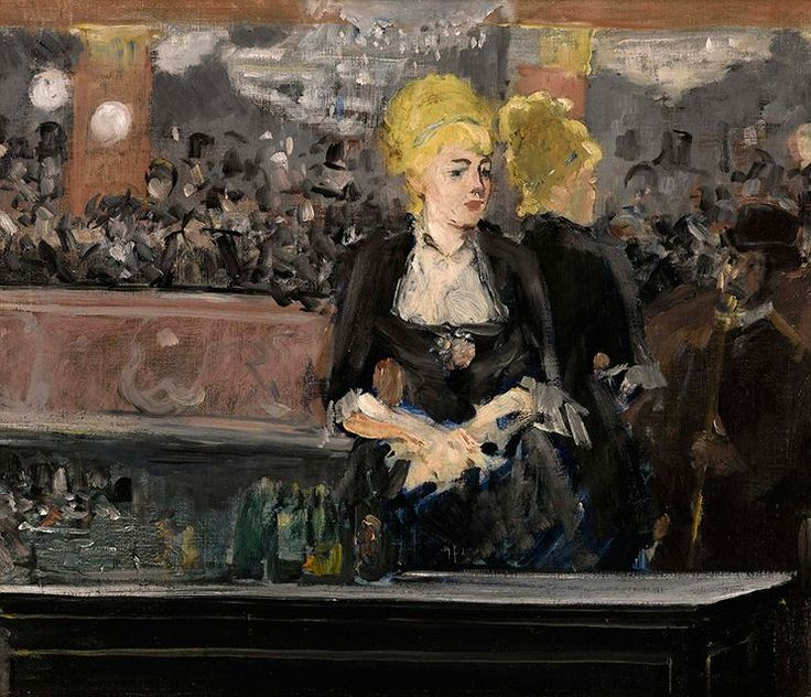 Édouard Manet, Le Bar aux Folies-Bergère. Oil on canvas, 47 by 56cm.; 18½ by 22in. Painted in 1881.