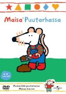 Maisa Puutarhassa -dvd:llä Maisa tykkää leikkiä ulkona ja puuhastella puutarhassa. Liity Maisan ja ystävysten seuraan telttaretkelle, Maisan kasvimaatalkoisiin ja leikkimään sateeseen!