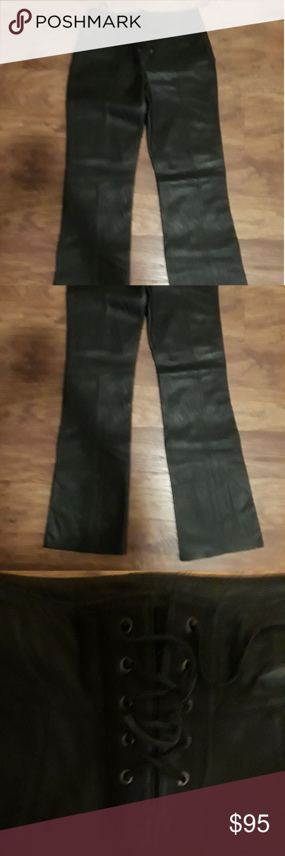 """Women's Wilson Maxims Lace up Riding Pants SZ 8 Great for motorcycle riding or dress, Like New 33"""" inseam Wilson Maxima Pants"""