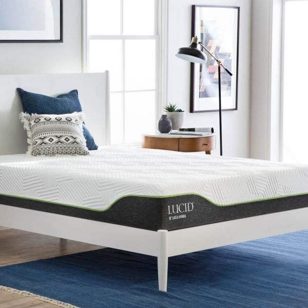 Lucid Mattress In 2020 Best Cooling Mattress Cool Gel Mattress Hybrid Mattress