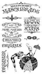 Midnight Masquerade Stamp Set 1