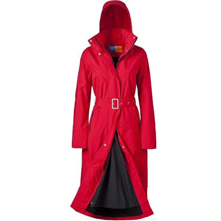Rainfrog - women | long raincoat | red long raincoat £139.95 inc p&p