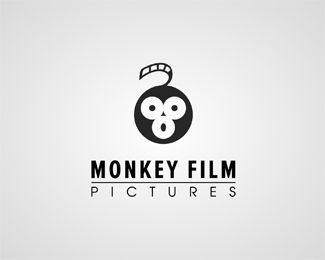 Monkey Film Pictures Logo design - Great logo brand suitable for film production company. Price $450.00