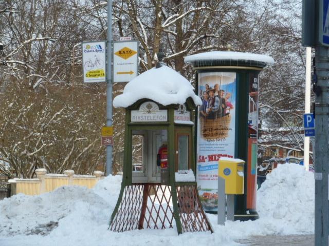 Vintage telephone in Karlstad