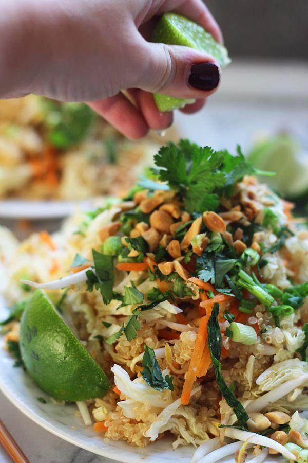 Quinoa Pad Thai ~ Easy and so so healthy!!