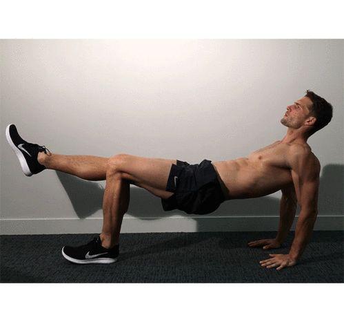 La routine sportive de Tomas Skoloudik en gifs : le gainage dorsal exercice gainage pour les triceps