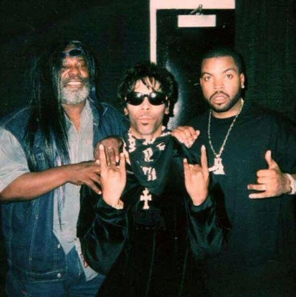 Prince, Ice Cube, George Clinton