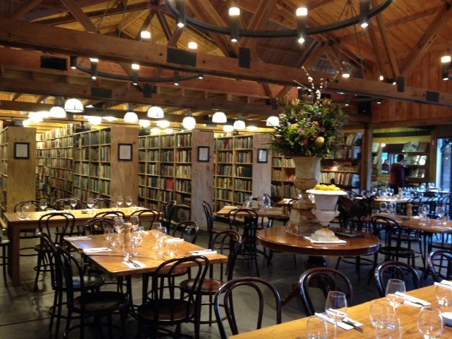 Bendooley Bar & Grill - resides within the Berlelouw Book Barn in Berrima.
