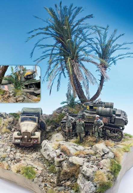 """The Modelling News: Preview: """"Landscapes of War. Diorama Vol.II"""" from the Greatest Guide from Accion Press"""