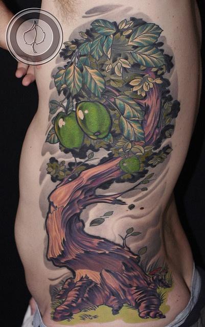 Wonderful olive tree? tattoo