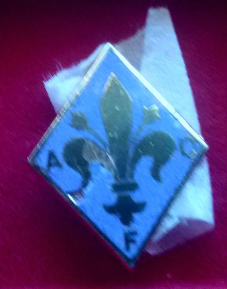 AC FIORENTINA (Italy) distintivo con spilla brooch pin calcio football soccer