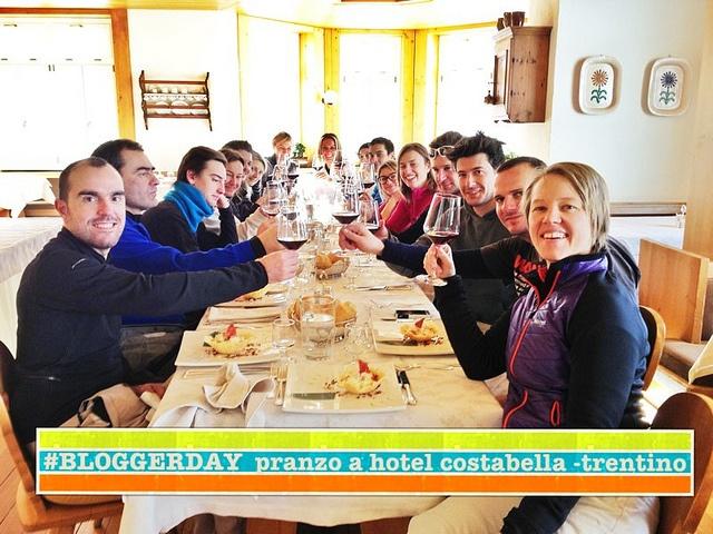 Pranzo #day2 al #bloggerday di ciasalpina. Pranzo a hotel costabella, passo San pellegrinò-Val di Fassa by Idea Turismo, via Flickr
